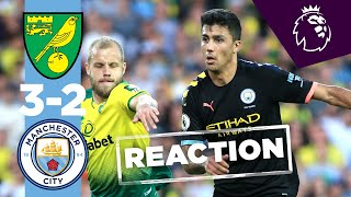 RODRIGO SCORES FIRST GOAL FOR CITY | NORWICH CITY 3-2 MAN CITY