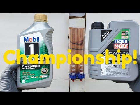 Engine Oil Championship Mobil 1 Vs Liqui Moly!