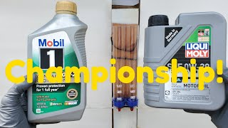 Engine oil Championship Mobil 1 vs Liqui moly!