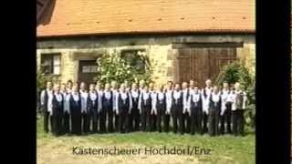 """""""Ich ging einmal spazieren""""  (F.Silcher) - Chorgem  Hochdorf Riet  (Werner Dippon)Lieder der Heimat"""