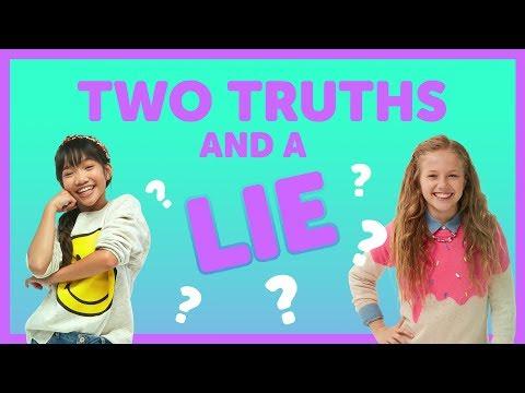 Two Truths & A Lie with Julianna & Indigo from The KIDZ BOP Kids