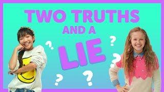Two Truths  A Lie with Julianna  Indigo from The KIDZ BOP Kids
