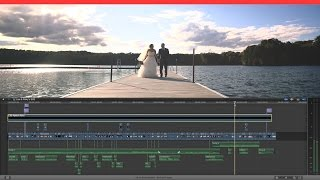 How to Edit a Wedding Film - Lisa & Rikky's Same Day Edit - FCPX