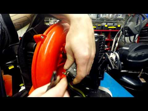 Echo blower carburetor replacement