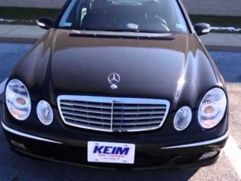 2005 mercedes benz e class e320 sedan lancaster pa for Mercedes benz lancaster