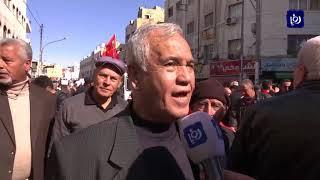 مواطنون يتظاهرون ضد قرارات الحكومة برفع الأسعار - (2-2-2018)