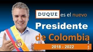 Iván Duque es el nuevo presidente de Colombia | 2018 - 2022 thumbnail