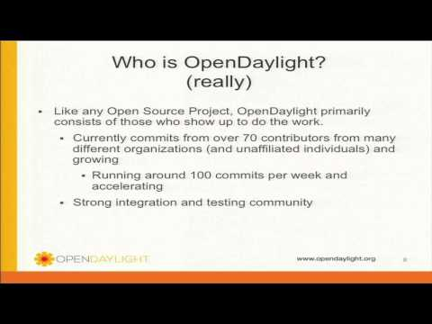 Demo Theater: OpenDaylight: An Open Source Platform for Software Defined Networking