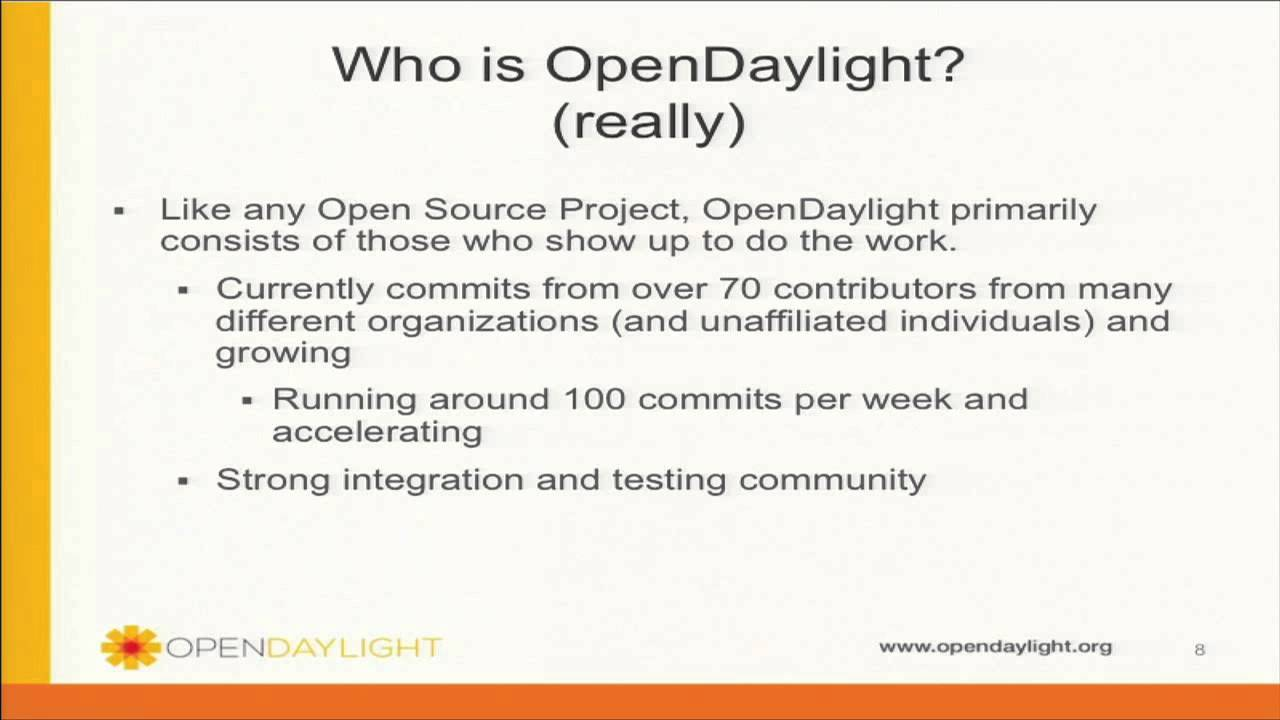 Demo Theater Opendaylight An Open Source Platform For Software Defined Networking