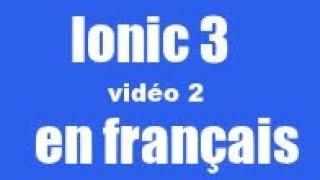 Ionic 3 - erstelle eine neue seite und menü hinzuzufügen