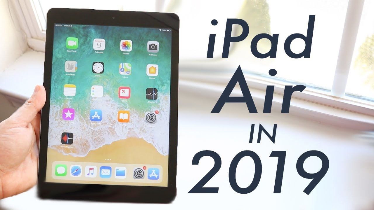 iPad Air 1 In 2019! (Is It Still Worth It?) (Review) - YouTube
