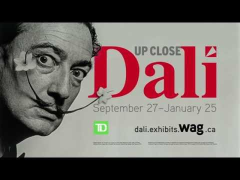 Dali Up Close & Masterworks from the Beaverbrook Art Gallery Promo