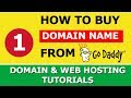 How to buy Domain Name from Godaddy | Explained in Hindi
