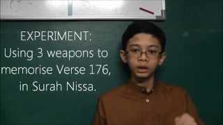 The 3 SECRET WEAPONS For Qur'an Memorisation