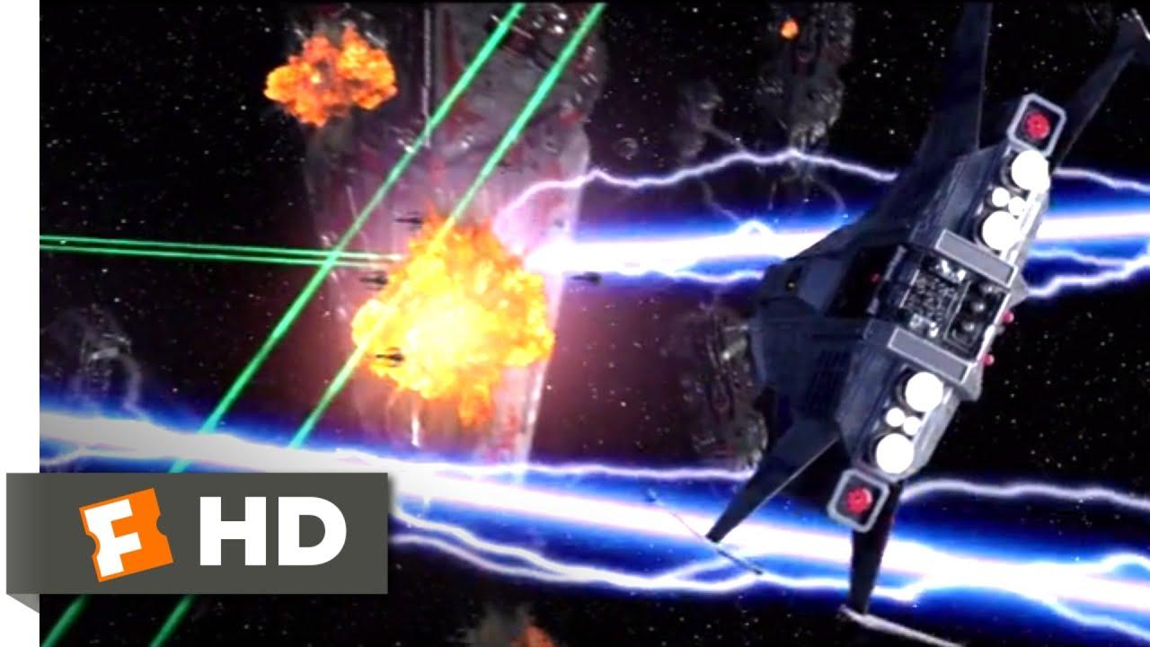 Battle Star Wars (2020) - Space Fight Scene (10/10)   Movieclips