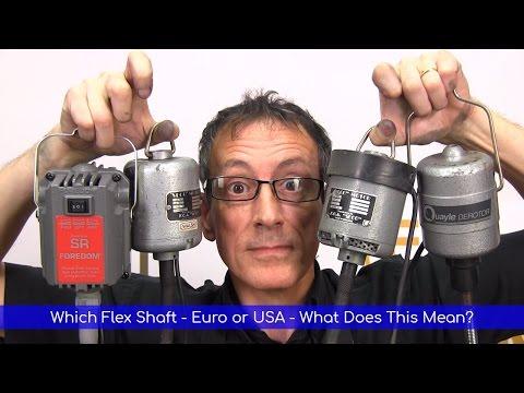 All About Flex Shafts / Pendant Motors and Handpieces