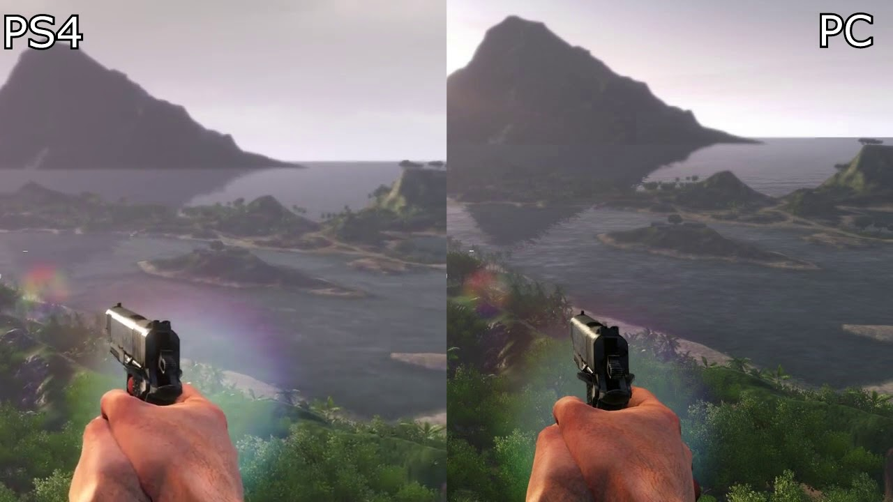 Far Cry 3 Ps4 Classic Edition Vs Pc Original Graphics Comparison Youtube