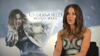 Interview with Kate Beckinsale for her new movie UNDERWORLD: BLOOD ...
