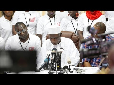 Adama Barrow officially declared winner of Gambia's presidential election