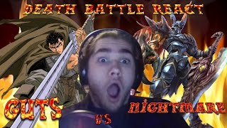 MonkeeMan Reacts to DEATH BATTLE - Guts Vs. Nightmare!!!!!