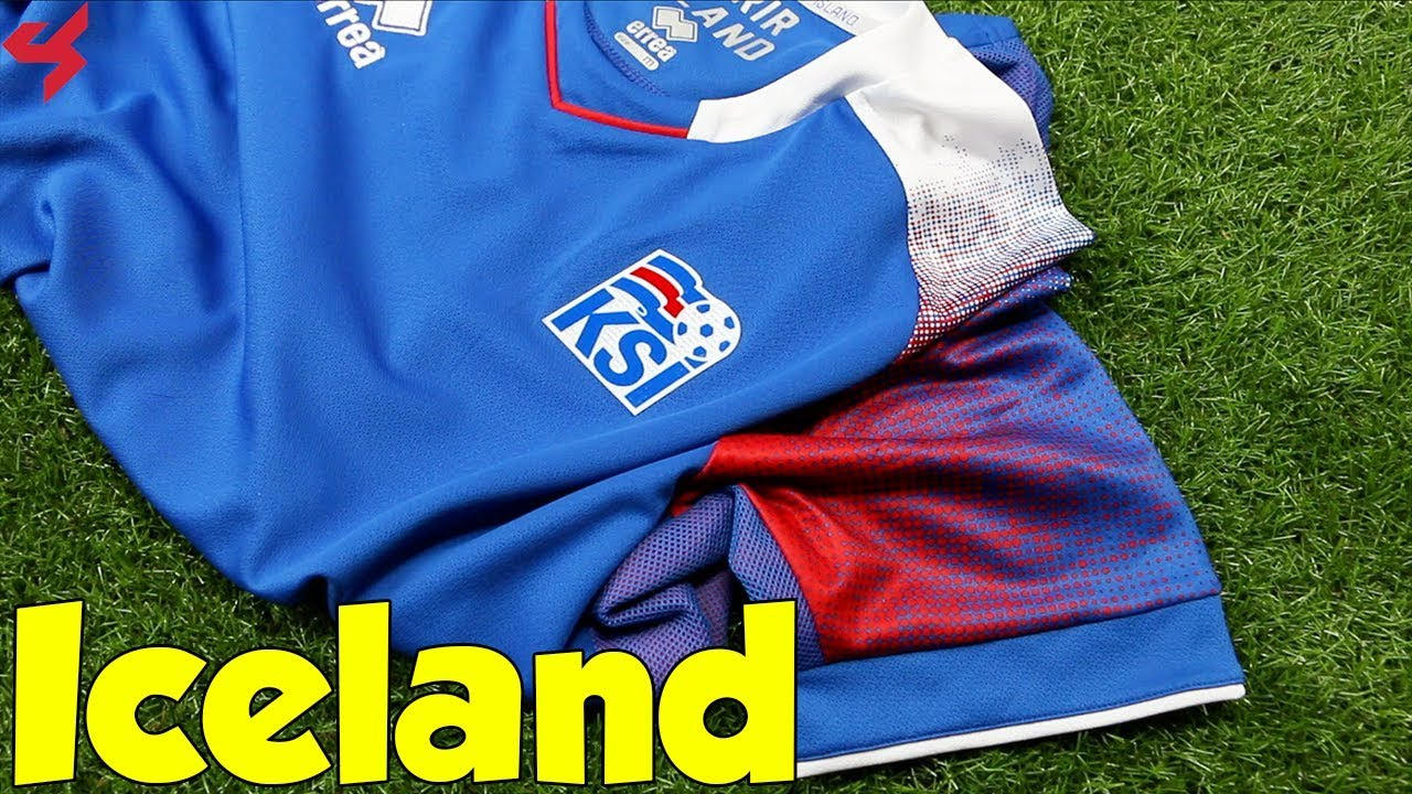 0cb9c3f9f World Cup 2018 Erreà Home Iceland Soccer Jersey Unboxing + Review ...
