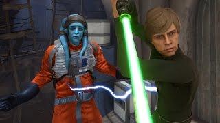 Star Wars Battlefront: Weird Hero Glitch! (Funny Moments w/Friends)