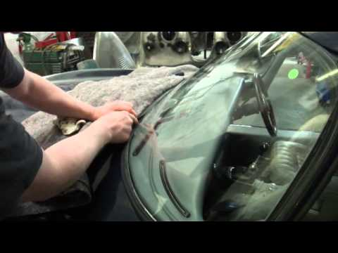 Series 2 2 2 E Type Jag Windscreen Fitting Youtube