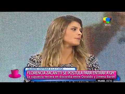 Flor Zaccanti promete una revolución sexual si entra a la Casa