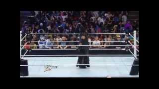 kane and daniel bryan team hell no saves the undertaker on raw april 8th