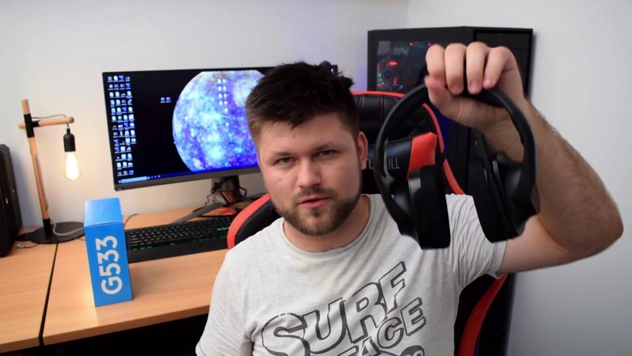 Logitech G533 Wireless Gaming Headphones Review | Tech Man Pat