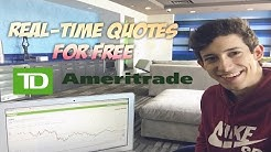 How To Get Real Time Quotes For Free | Penny Stock Day Trader (LEVEL II)