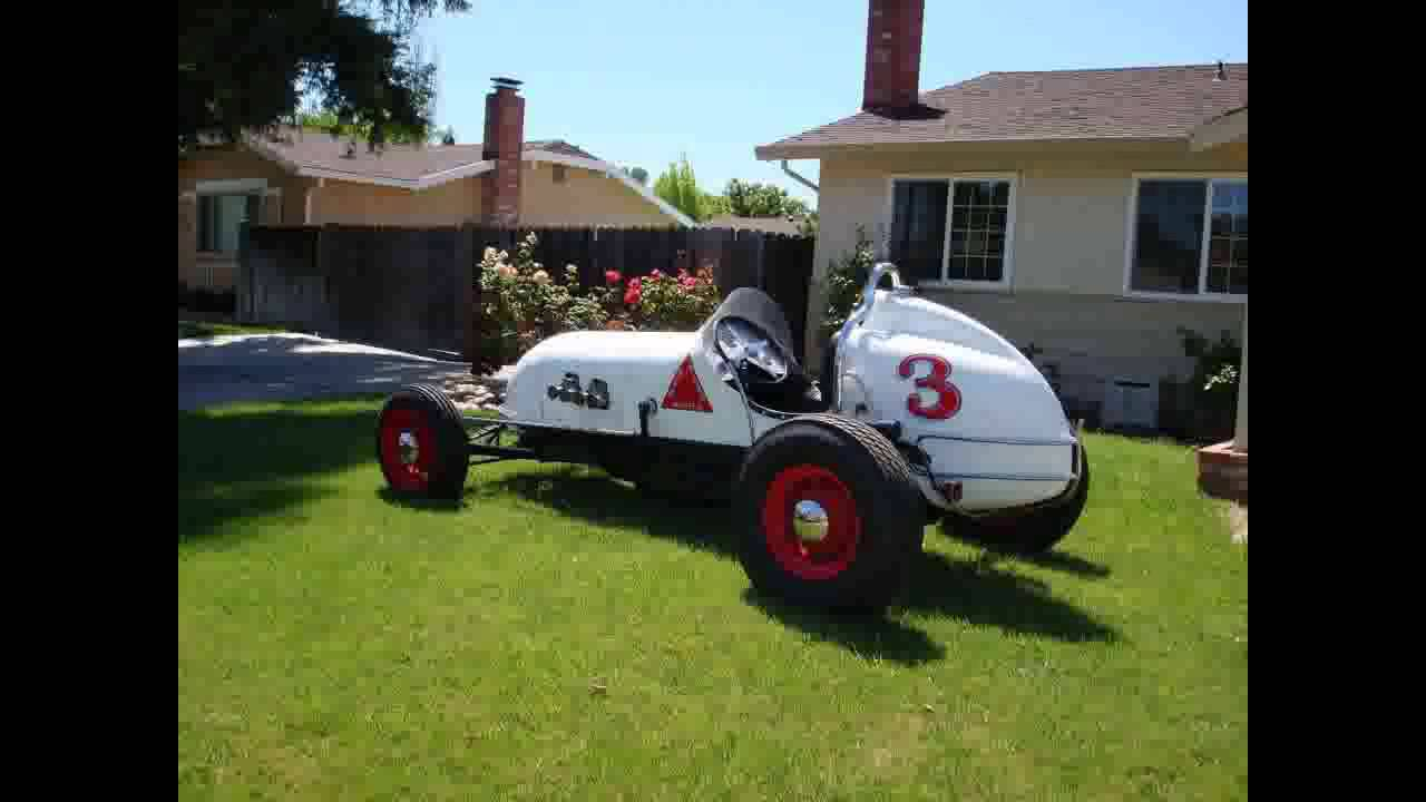 FOR SALE 1929 Indy Sprint Car IN LIVERMORE CA 94550 - YouTube