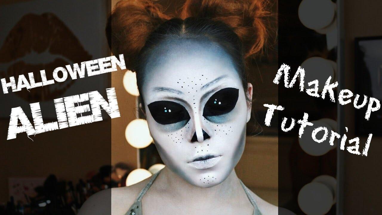 Trucco Halloween Yahoo.Alien Halloween Makeup Tutorial