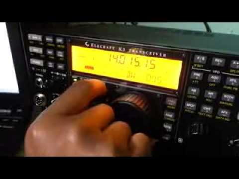 9m2pju Playing With Elecraft K3 Youtube