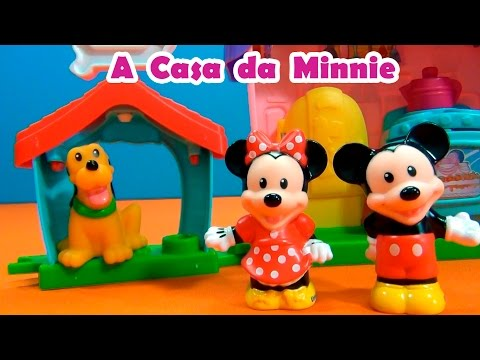 Casa da Minnie Mouse ,do Mickey Mouse e do Pluto ! #TiaCris #TurmadaMonica #TurmadaMonica