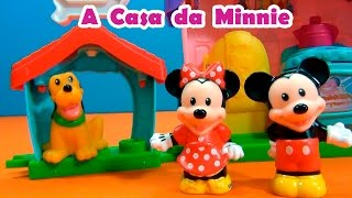 Casa da Minnie Mouse ,do Mickey Mouse e do Pluto ! #TiaCris #TurmadoMickey #MickeyMouse