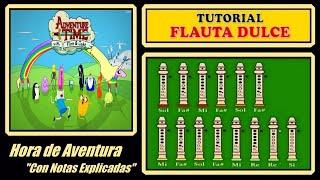 Hora de Aventura - Ending en Flauta