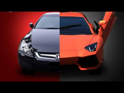 LAMBORGHINI AVENTADOR REPLICA MADE FROM HONDA ACCORD MODIFIED IN MUMBAI INDIA 2018 | EMT