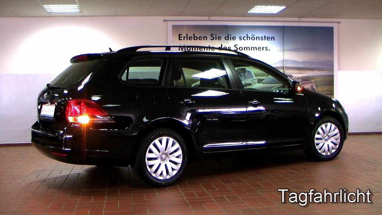 volkswagen golf vi variant 1 4 trendline 2011 deep black. Black Bedroom Furniture Sets. Home Design Ideas