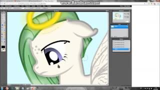 Как сделать пони в виде ангела