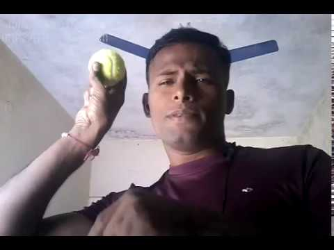 How To Bowl Outswing With Tennis Ball Hindi Tutorial Tips And TricksTennis Ball Without Tap |Bowling