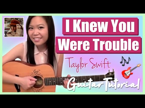 """I Knew You Were Trouble"" - Taylor Swift EASY Guitar Tutorial/Chords (No Capo!)"