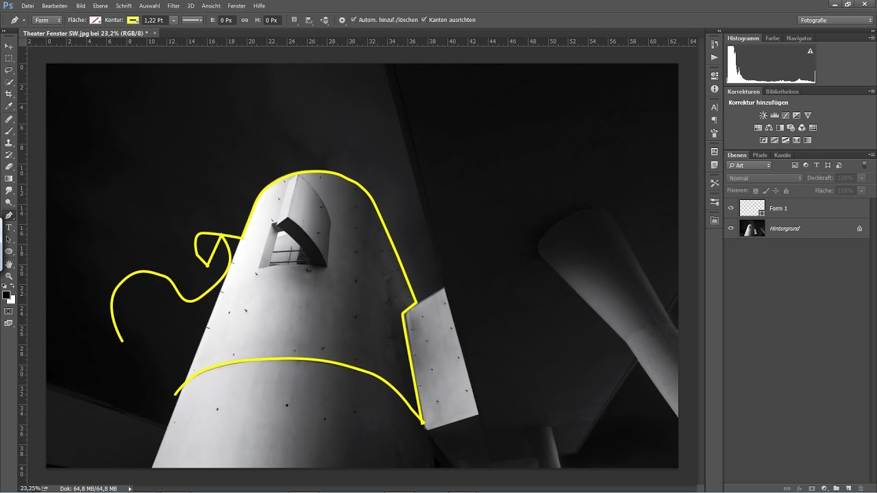 das zeichenstift bzw pfadwerkzeug photoshop tutorial youtube vektorgrafik in pixelgrafik