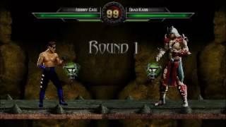 Johnny Cage vs. Shao Kahn | MK: Devastation