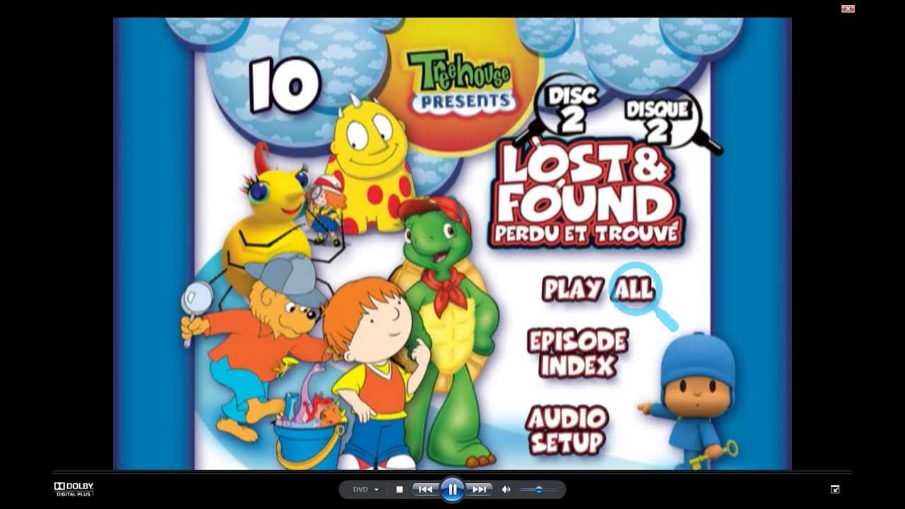 Treehouse Corus Part - 21: Opening To Treehouse TV Presents: Lost And Found 2005 DVD With Better  Quality! - YouTube