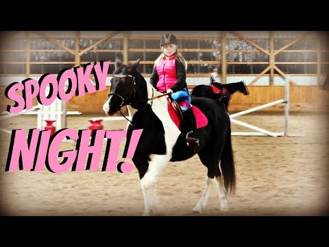A REALLY SPOOKY  NIGHT AT THE BARN  Day 317 (11/16/18)