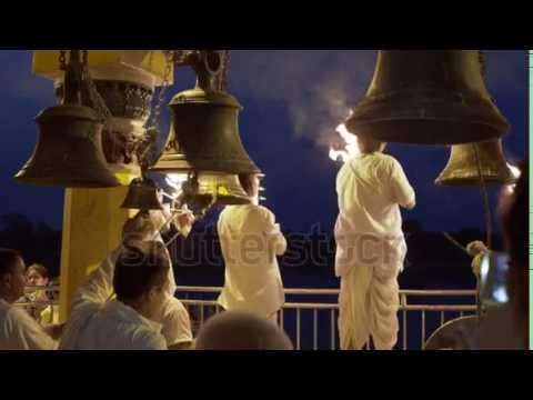 Mandir Bells Ringing and Pooja Aarti