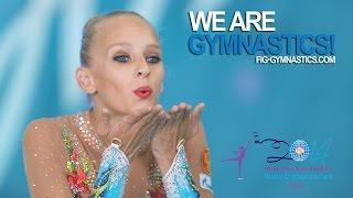2014 Rhythmic Worlds - IZMIR, TUR - Title defender Yana Kudryavtseva (RUS) - We are Gymnastics!