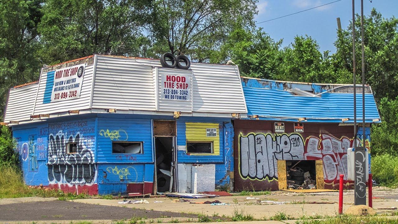 A Tour Of Detroits Ghetto 2015