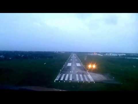 Pilot's view - Landing at Eugene F. Correira International Airport aka Ogle Airport
